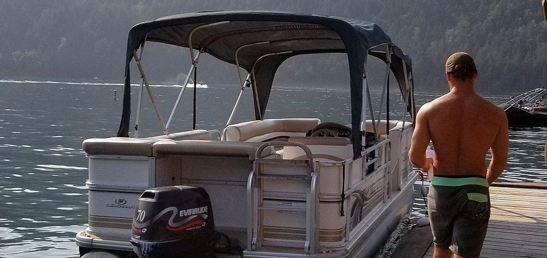 Pontoon Boat Rentals Cultus Lake Marina